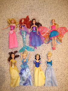 Disney princesses & Fairytopia doll