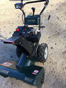 "Craftsman 9hp  27"" wide large frame snowblower"