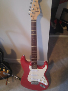 Squire bullet strat sounds good upgraded pickups