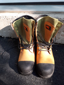 STC  SAFTY WORK BOOTS SIZE 7