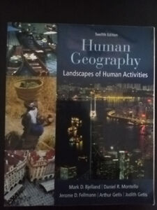 Human Geography Landscapes of Human