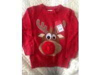 Next - Christmas jumper 4yrs BNWT