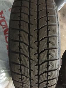 P195/65R15 Winter tires on rims set of 4 Honda Stratford Kitchener Area image 1