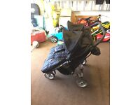 Baby Jogger City Mini - Twin/Double Buggy (black)