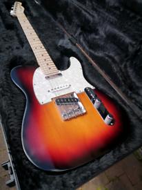 Fender American Highway One Telecaster pro mod Nashville Deluxe Guitar