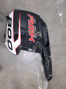 2012,polaris,pro,side panel, cover,800,rmk,snowmobile