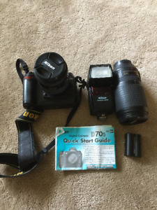 Nikon D70 Camera and Lenses
