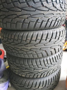 Ford fusion  winter tires/rims/tpsm 215/60/r16
