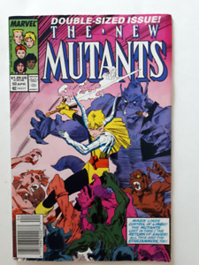 The new mutants, Comic Book, Super Heros,  Marvel, anglais, 2$