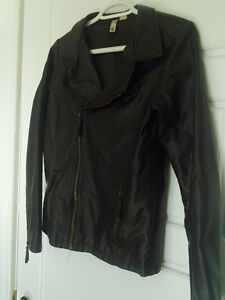 Element Faux Leather Jacket