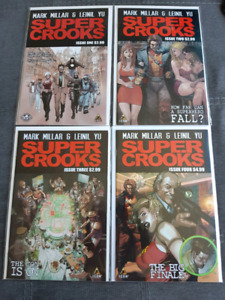 Super Crooks 1-4 Complete Series Run