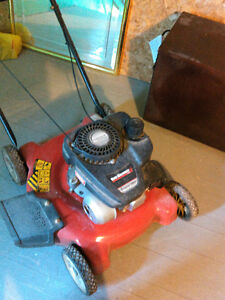 Lawn Mower only two years old. Very little use.