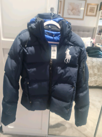 Polo Ralph Lauren mens navy coat Small