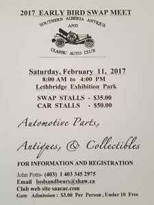 central alberta vintage car club swap meet