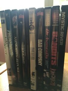10 DVDs movies