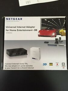 Netgear powerline 500 with 4 ports huv West Island Greater Montréal image 1