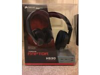 Corsair raptor HS30 gaming headset. 6months old