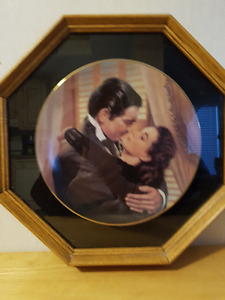Marry Me Scarlett framed plate