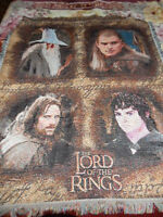 LOTR Throw Blanket For Sale