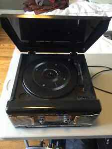 Teac SL-A200B Combination Record player with CD and radio