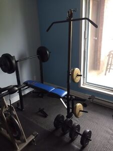 Bench press for sale.