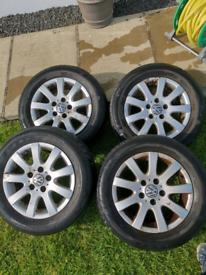 VW golf alloys (5x112)