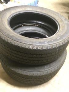 2 Tires LT 265/60/R20 Good Year Wrangler SR-A