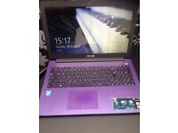"Slim & light 15"" notebook laptop Purple model X502CA"
