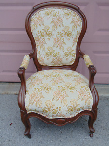 Antique chair Queen Anne style