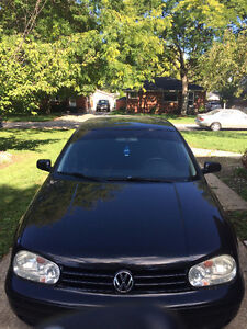2007 Volkswagen Golf black Hatchback Windsor Region Ontario image 2