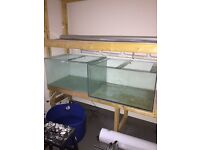 270 litre fish tanks, two for sale, fish tank, £50 FOR BOTH IF COLLECTED FRIDAY 22nd between 2-4pm