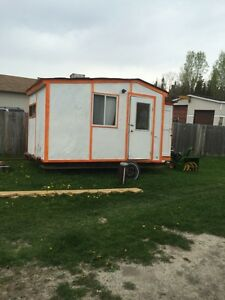 Ice hut for sale with trailer must go ASAP