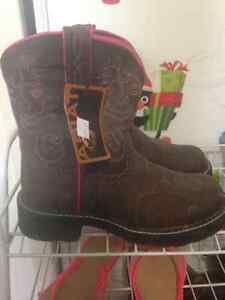 Brand new fatboy Ariat cowboy boots size 8.5