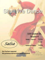 Salsa lessons, learn 4 basic steps for free.