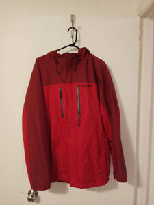 Imperméable rouge colombia
