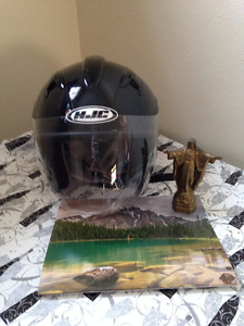 Mans Motorcycle Helmets (two)