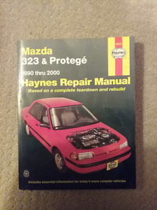 Haynes Repair Manual - Mazda Protege