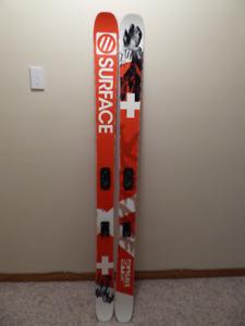 Surface, powder ski, 180 cm, 98 under foot
