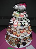 Large 4 Level CupCake Stand