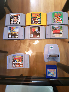 Nintendo 64 goldeneye pokemon stadium banjo tooie +more