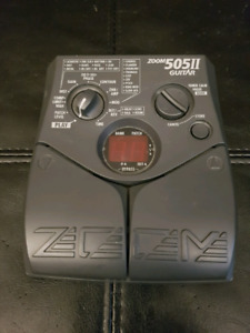 Zoom 505II Guitar Effects / FX Pedal