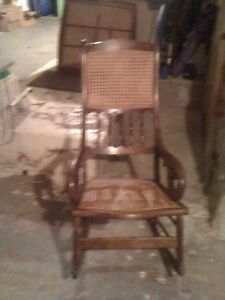 Lincoln Caned Rocker Best Offer Kawartha Lakes Peterborough Area image 1