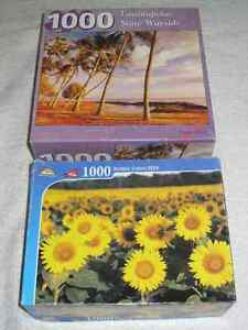 PUZZLES (1000PC) - ONLY 2 LEFT - CHECK IT OUT!