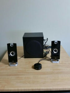 PA Desktop Computer Speakers