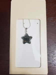 Natural Stone Star Pendant