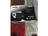 Giani Nero DV5525A digital video camera brand new boxed with accessories and a 16gb SD card