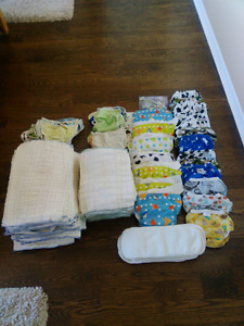 Cloth diapers and cloth training underpants