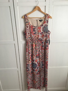 Ikat Print Maxi Dress-- Closet Sale!!