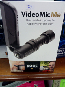 Video Mic Me Directional Microphone