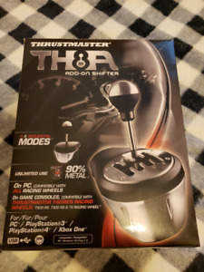 TH8A shifter & T3PA 3 pedal add-on